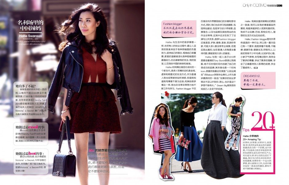 China Cosmopolitan Feature