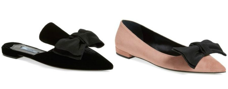 Sunday Shopping: Prada Bow Flats VS Bow Mules