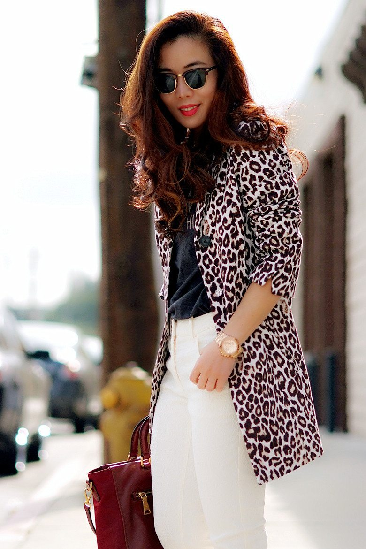 Леопардовый Пиджак