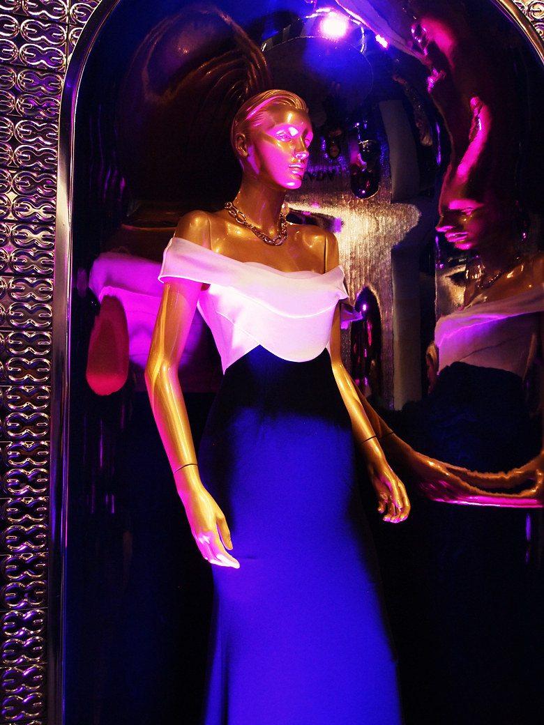 hallieswanson escada x w magazine event la escada leather jacket zara