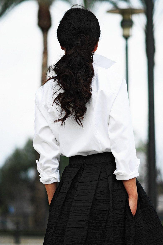 Long Black Dress Pearl Necklace