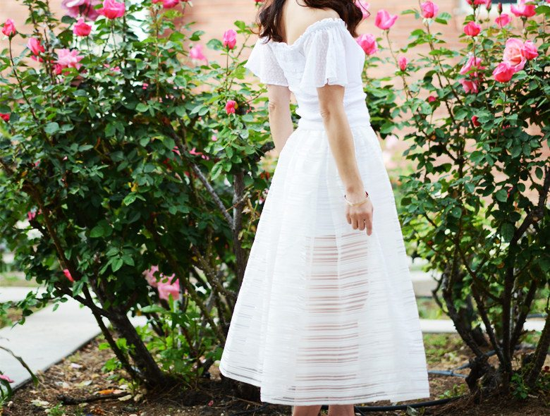 HallieDaily, Rose are Red, Romantic Style, Free People Off-the ...