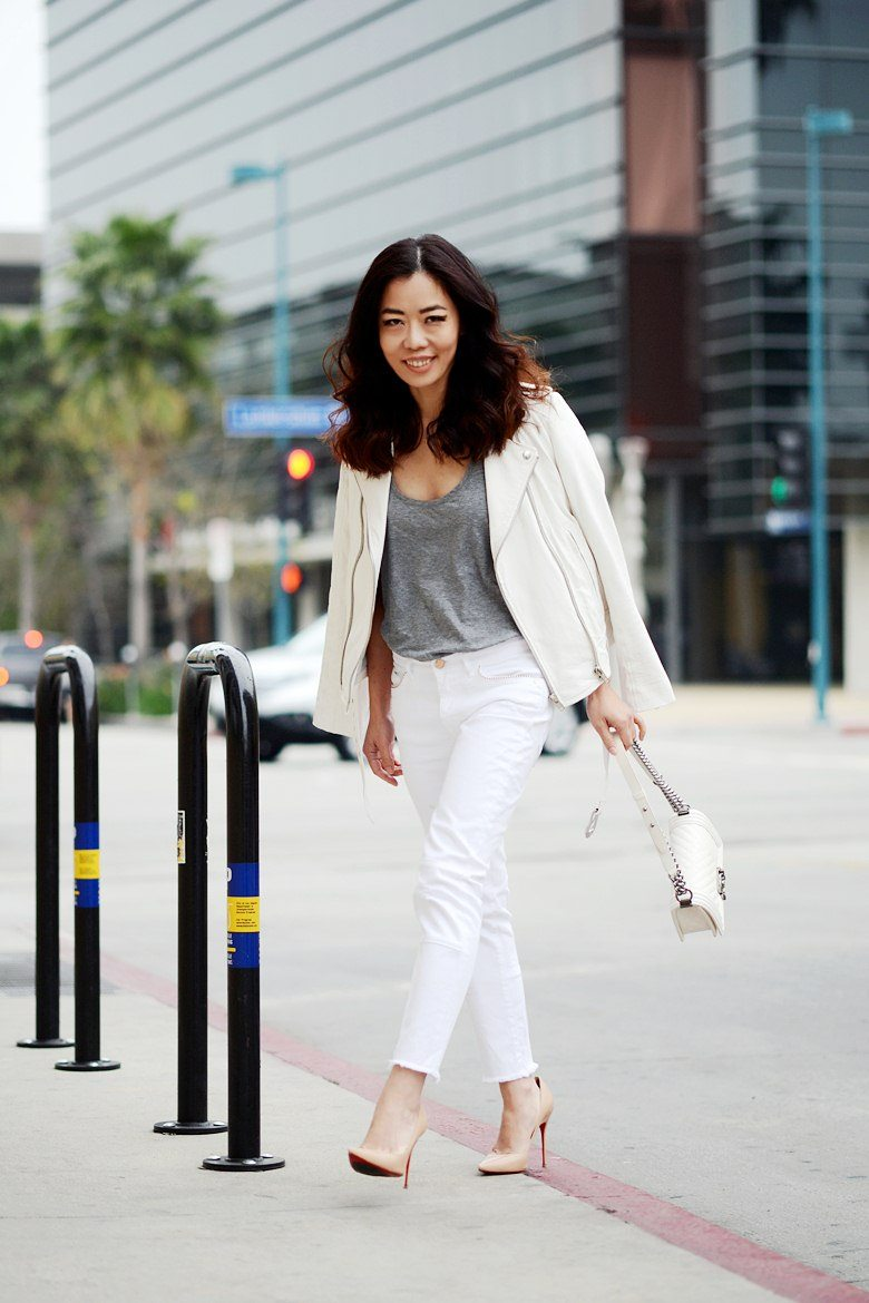 White Jeans Combination
