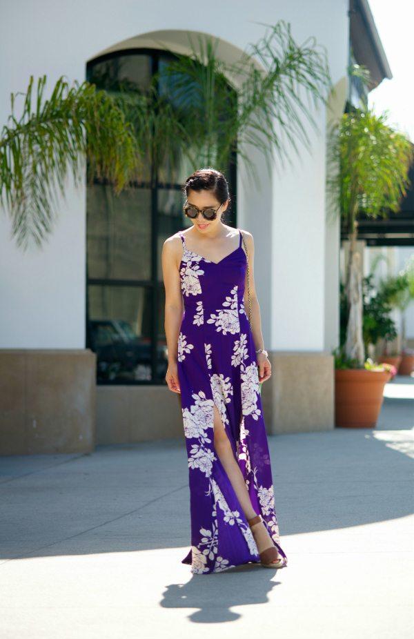 e4499d007c44 Easy Summer  Floral Maxi Dress
