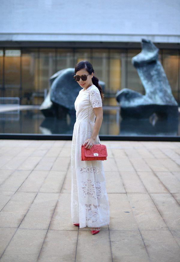 6f198246e730 HallieDaily  Maxi-Dress-Valentino-Bag-Shoes
