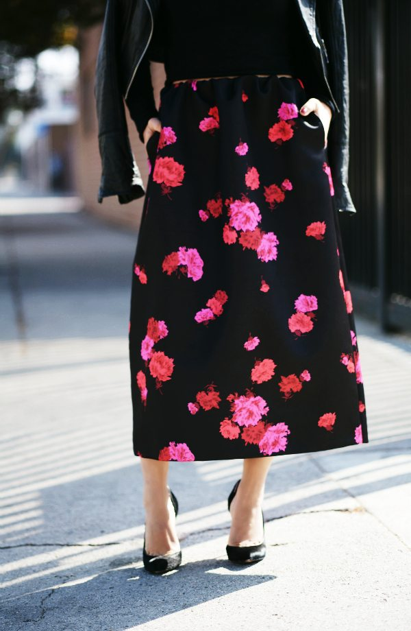 f34dddc1f7d6 Weekend Flower  Cropped Top and No21 Maxi Skirt