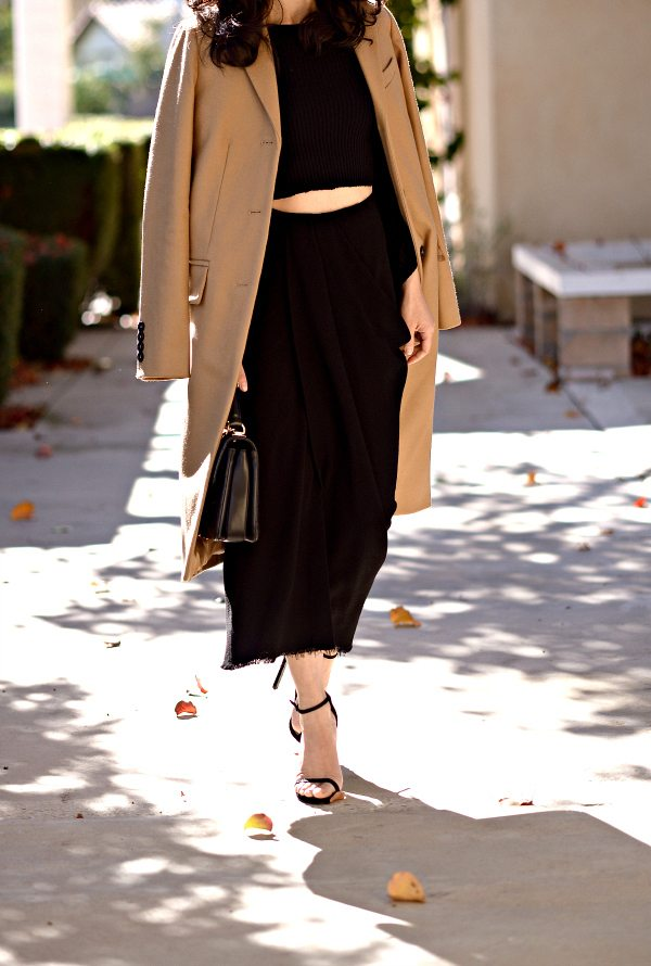 HallieDaily-Marc by Marc Jacobs Camel Coat-Lanvin Skirt-Chanel Bag 2