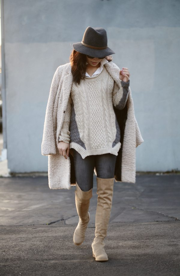 Cold Weather Cover Up Hallie Daily