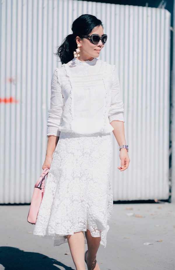 HallieDaily, Fashion, Style, Street Style, Feminine, Zara White ...
