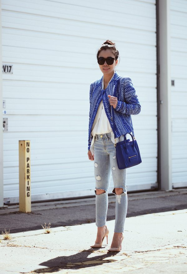 celine classic leather bag - HallieDaily, Fashion, Style, Street Style, What I Wore, OOTD ...