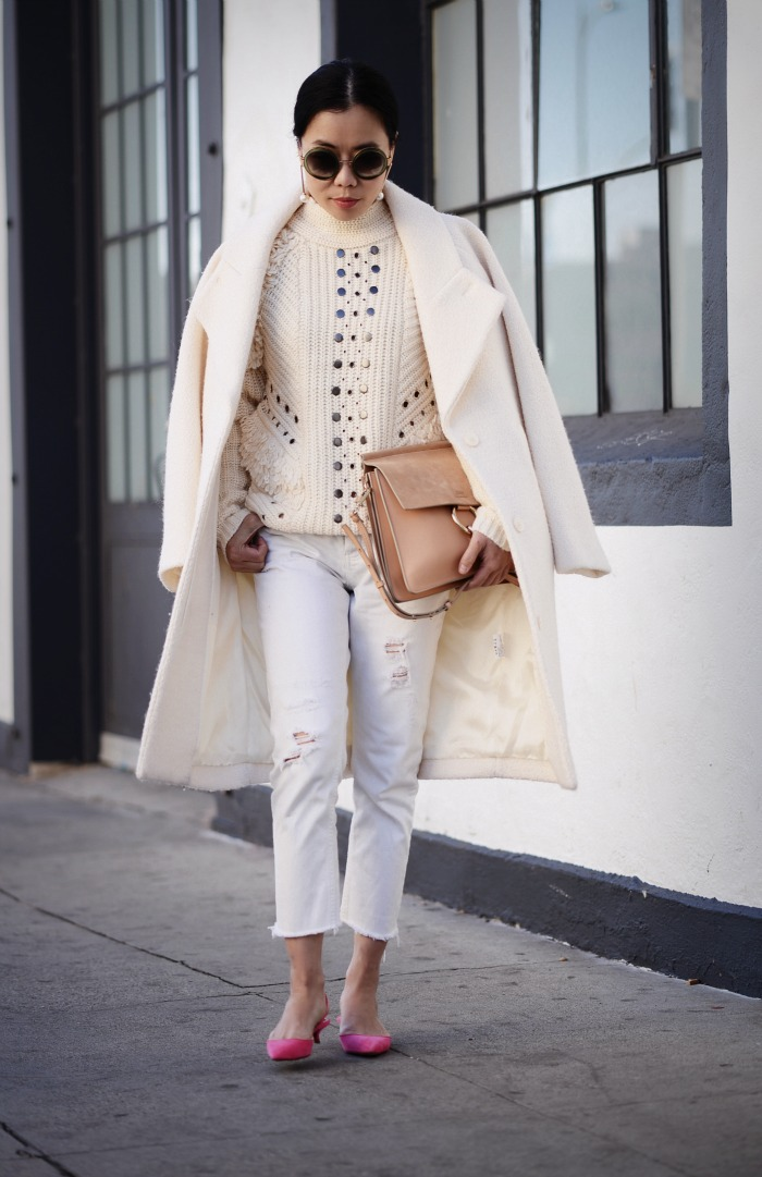 HallieDaily, Style, Street Style, Outfit, Lookbook, Carven Coat ...