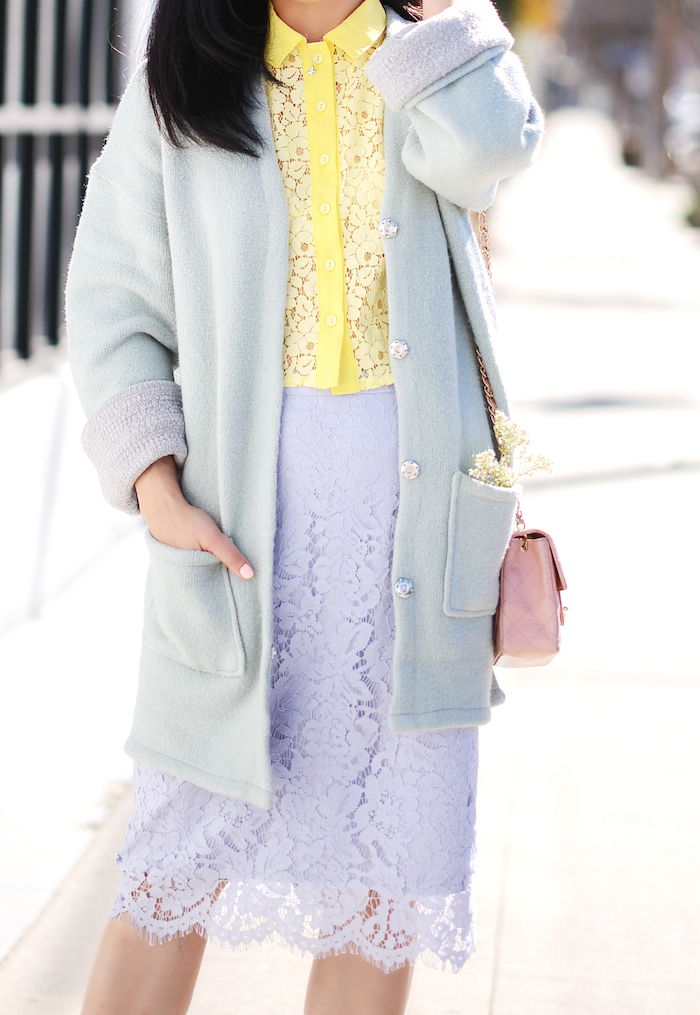 Pastel Spring Lace Top Lace Skirt Amp Butterflies Hallie
