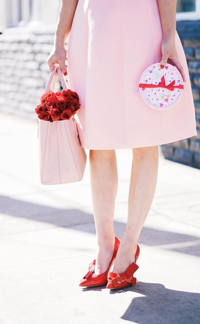 prada replica - Pink \u0026amp; Red For Valentine\u0026#39;s Day, Flowers, GODIVA Chocolate, Teri ...