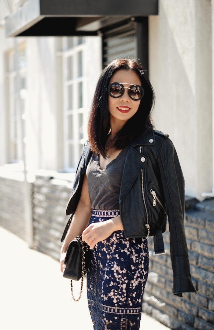 New Shades: Prada Saffiano Leather Round Sunglasses ...