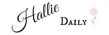 HallieDaily Header