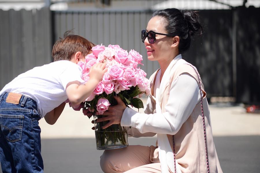 Mother's Day, Pretty Flowers, Mom, Son, Love, via: HallieDaily