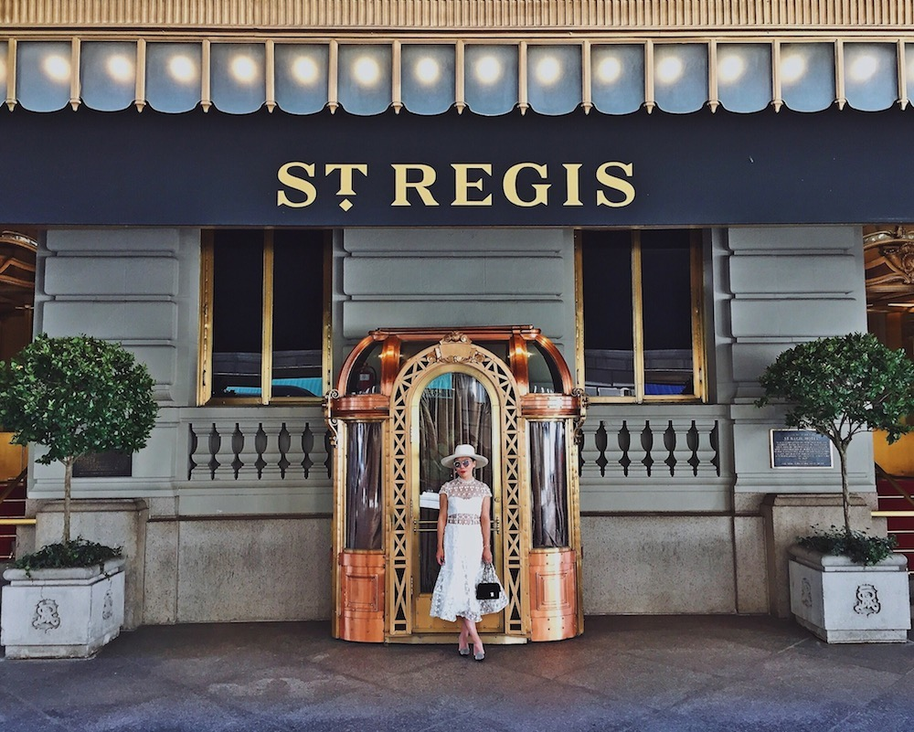 St regis new york hallie daily for St regis