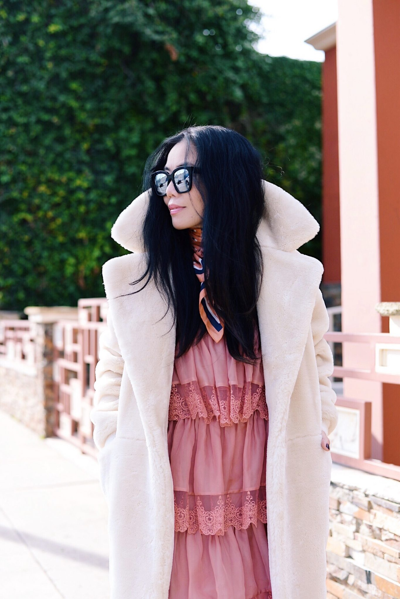 eebdb5596afe Sneaker Style  Ruffle Dress   Teddy Coat
