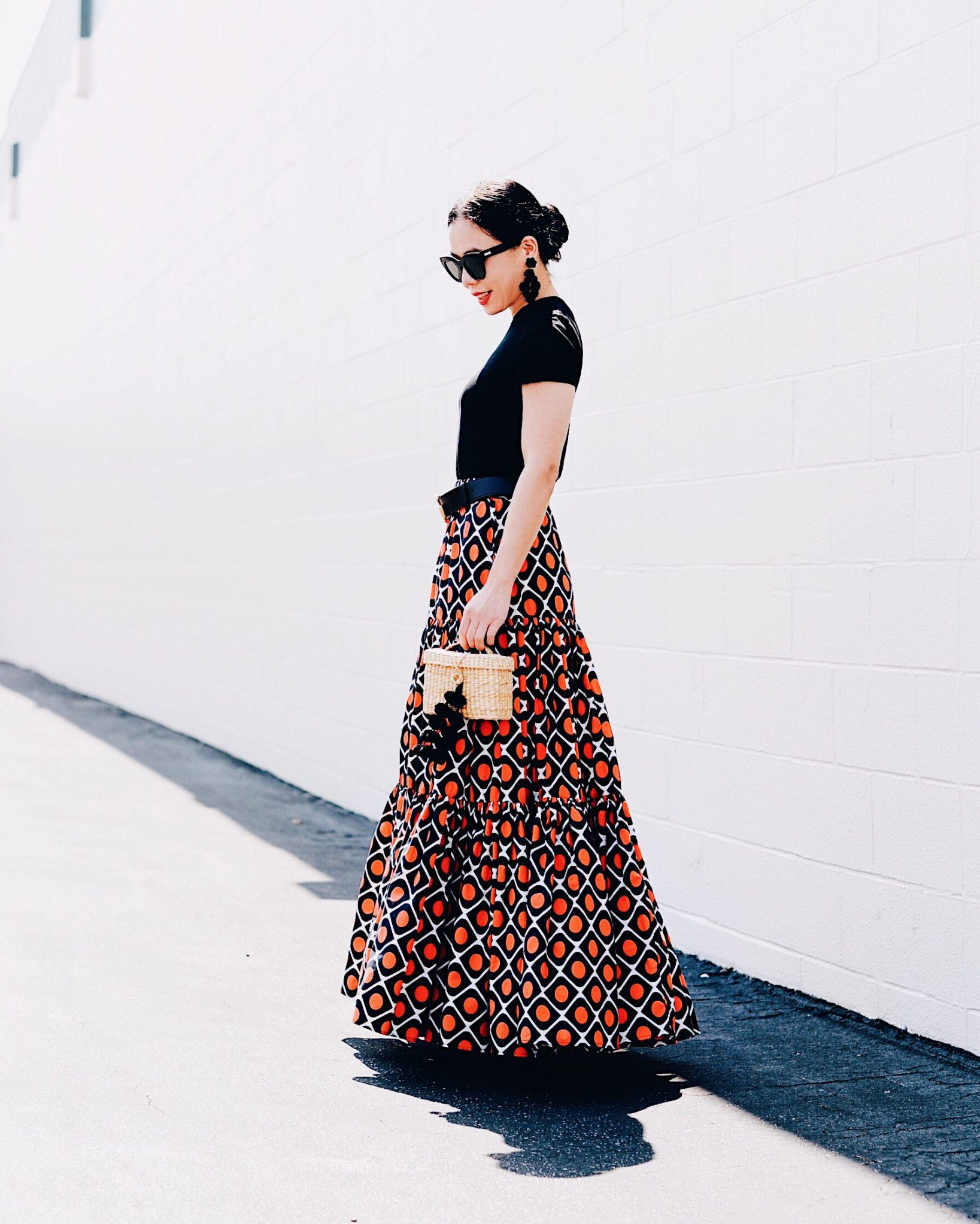 18c50efb5c02 Cotton Maxi Skirt