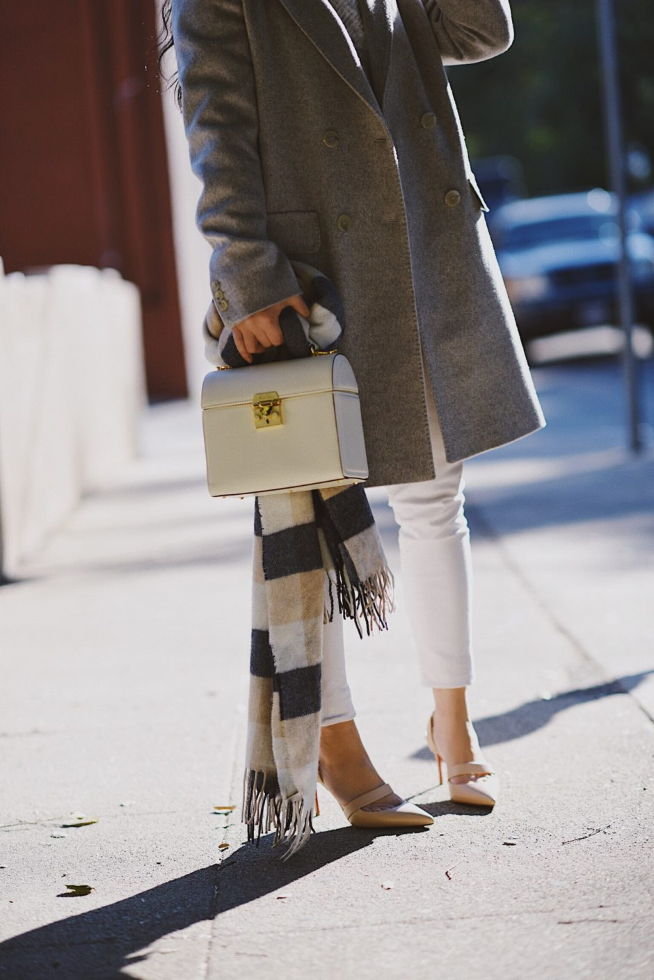 Outfit Style Street Style Max Mara Studio Coat Winter